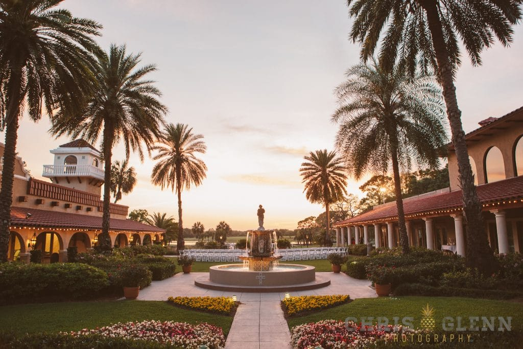 Mission Inn Resort - Stunning Fountain and Outdoor Ceremony Space