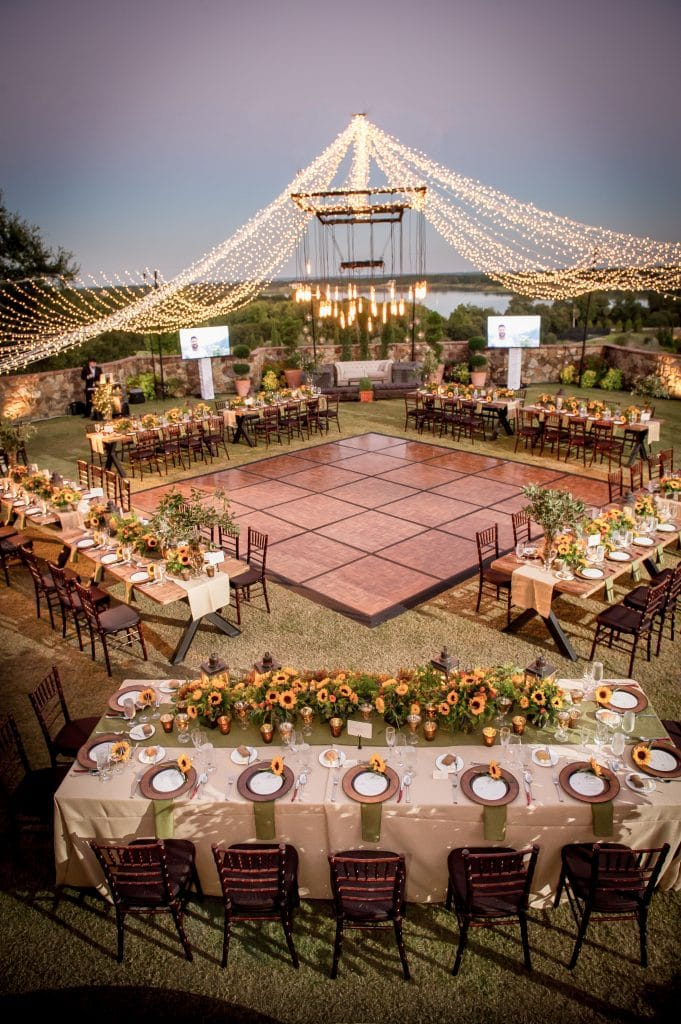 Bella Collina - stunning outdoor reception space