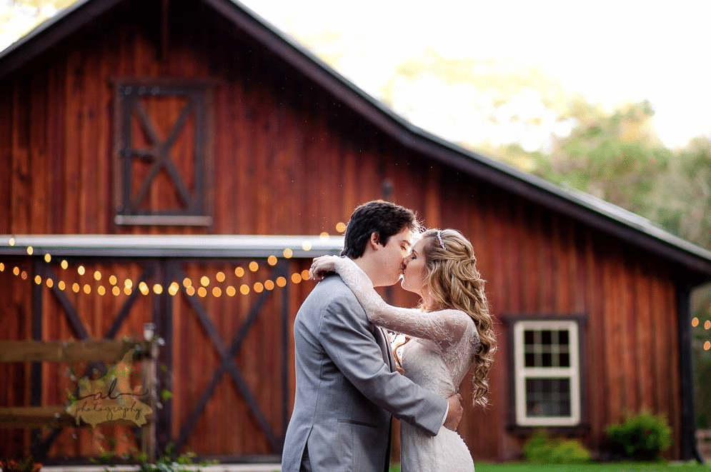 Bridle Oaks Barn - romantic barn wedding venue