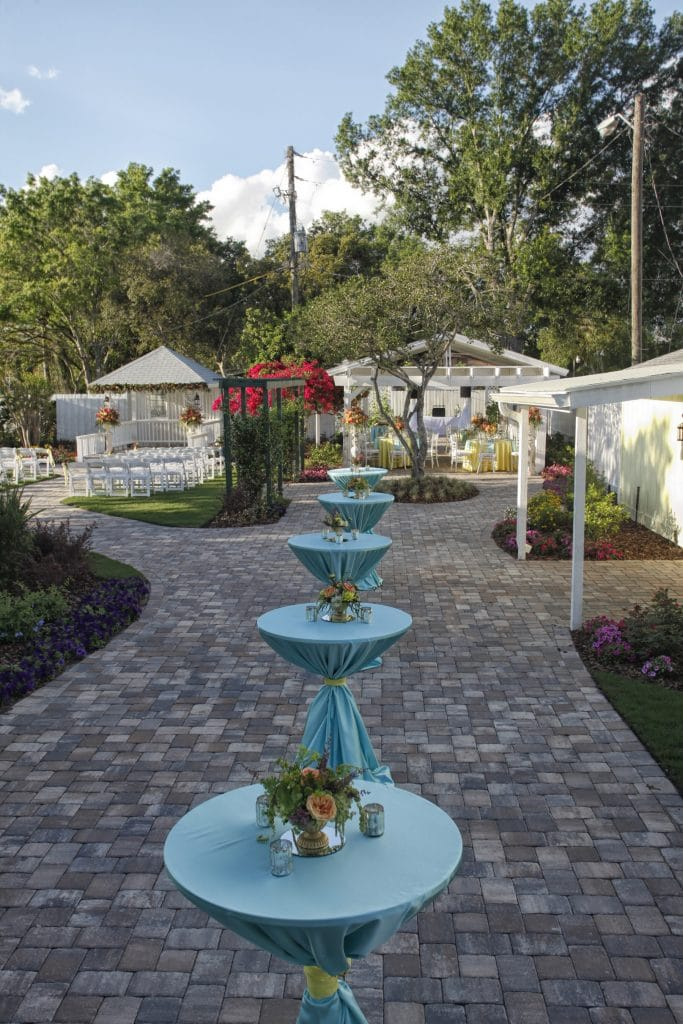 Celebration Gardens - outdoor ceremony and reception space