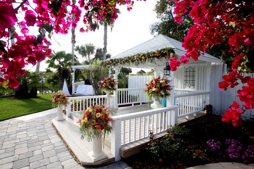 Celebration Gardens - cute outdoor pavilion ceremony space