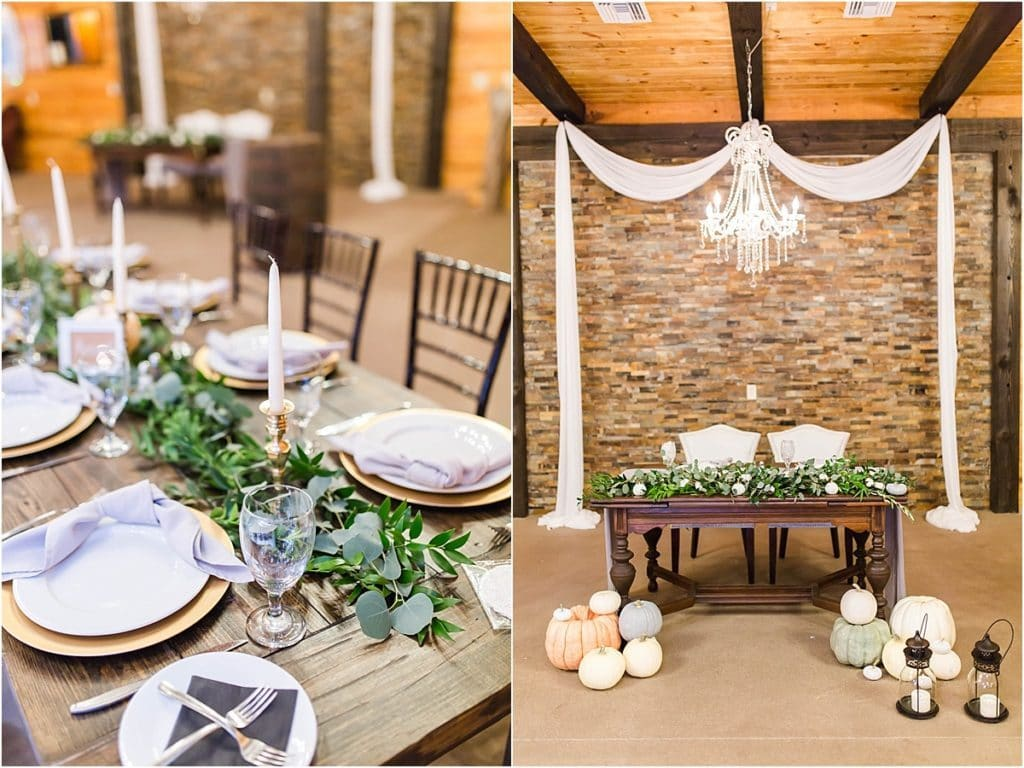 Club Lake Plantation - beautiful wedding venue combines rustic details with elegance