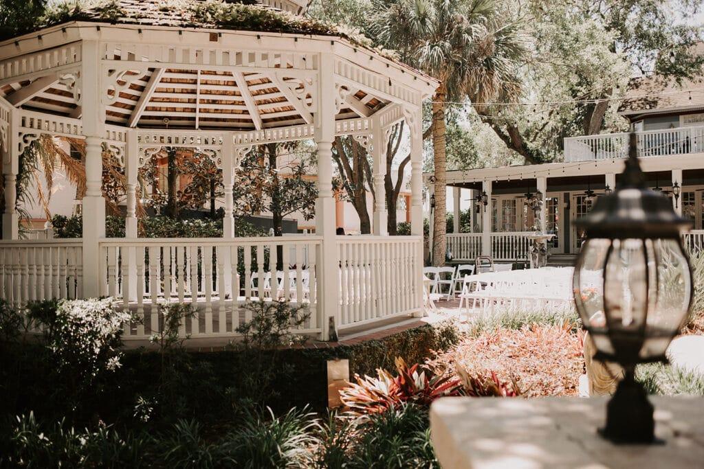 Dr Phillips House Downtown Orlando Wedding Venue outdoor garden gazebo