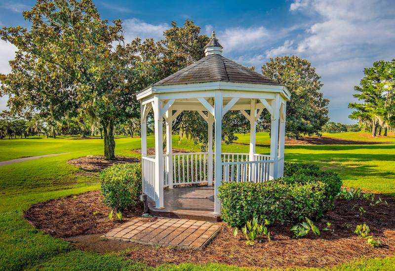 Falcon's Fire outdoor gazebo