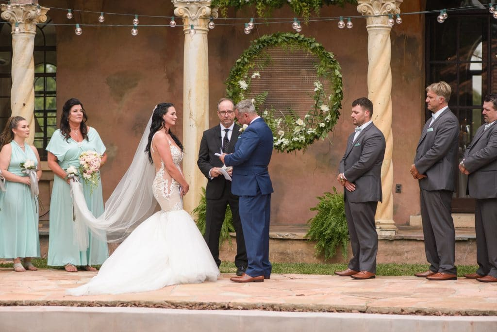 The Howey Mansion - outdoor ceremony location