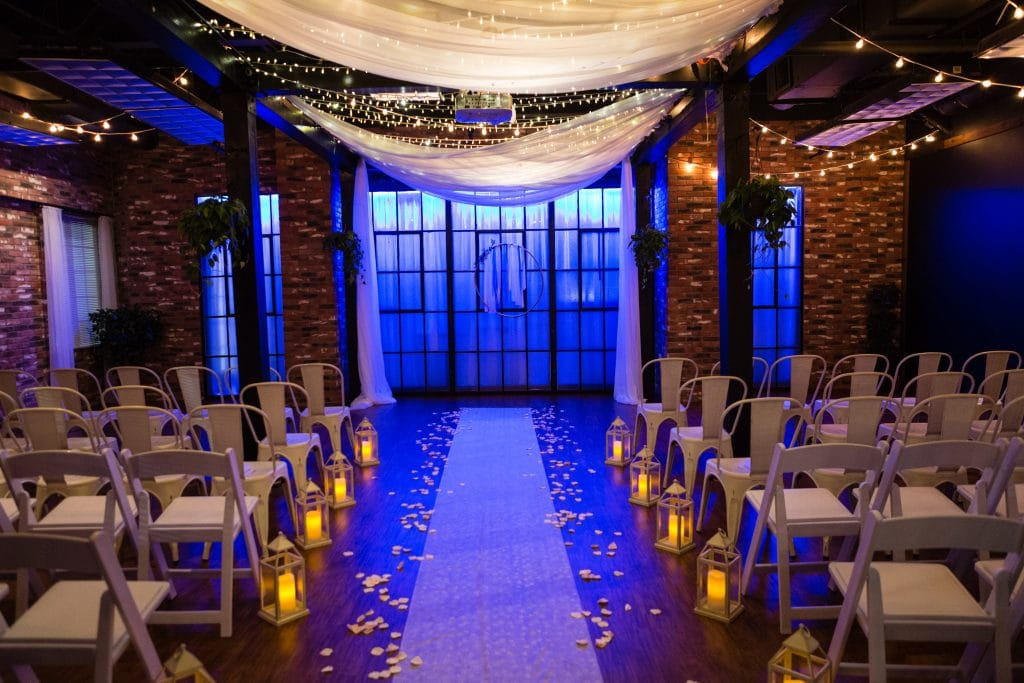 Hub 925 - indoor ceremony space
