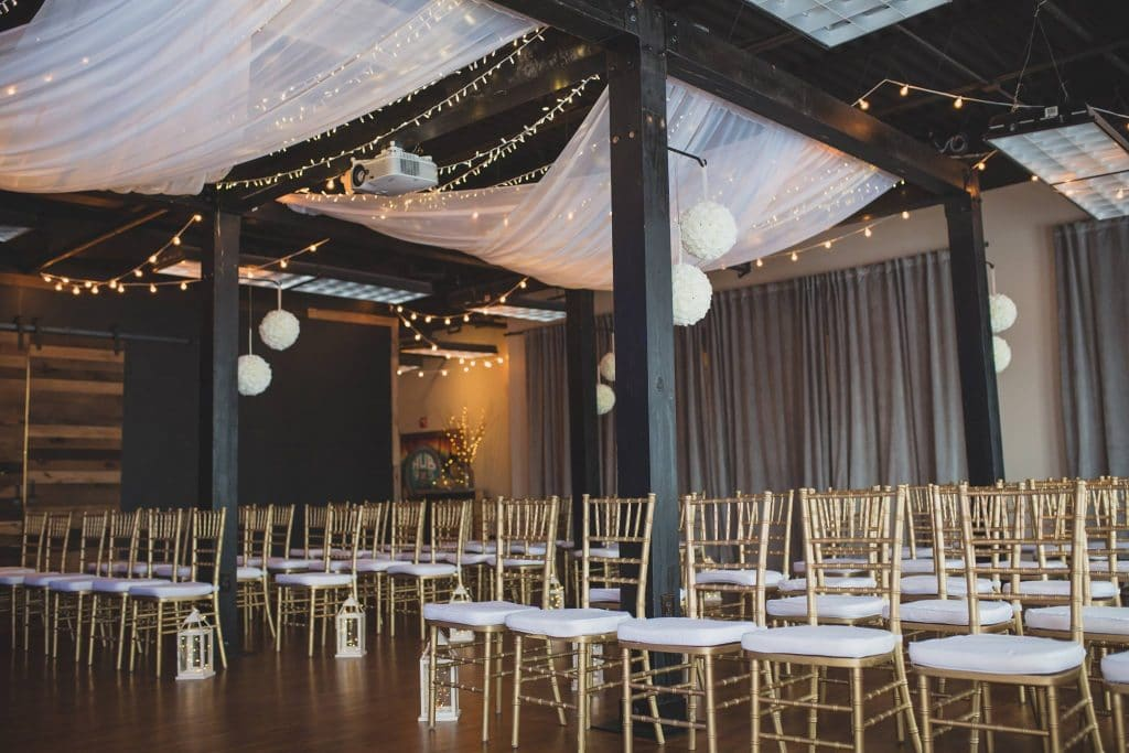 Hub 925 - modern, romantic indoor ceremony space