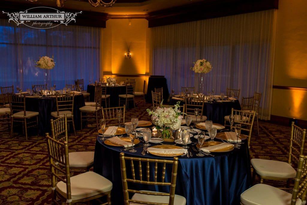 Wedding reception venue legends ballroom at mission inn resort