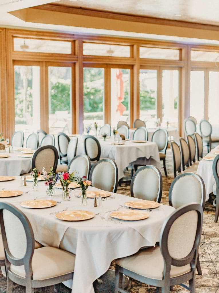 Mission inn resort la hacienda wedding reception windows