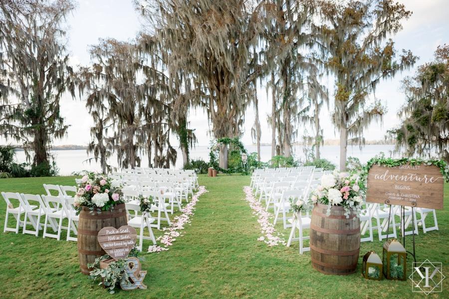 Mission Inn Resort wedding marina del rey lakefront ceremony