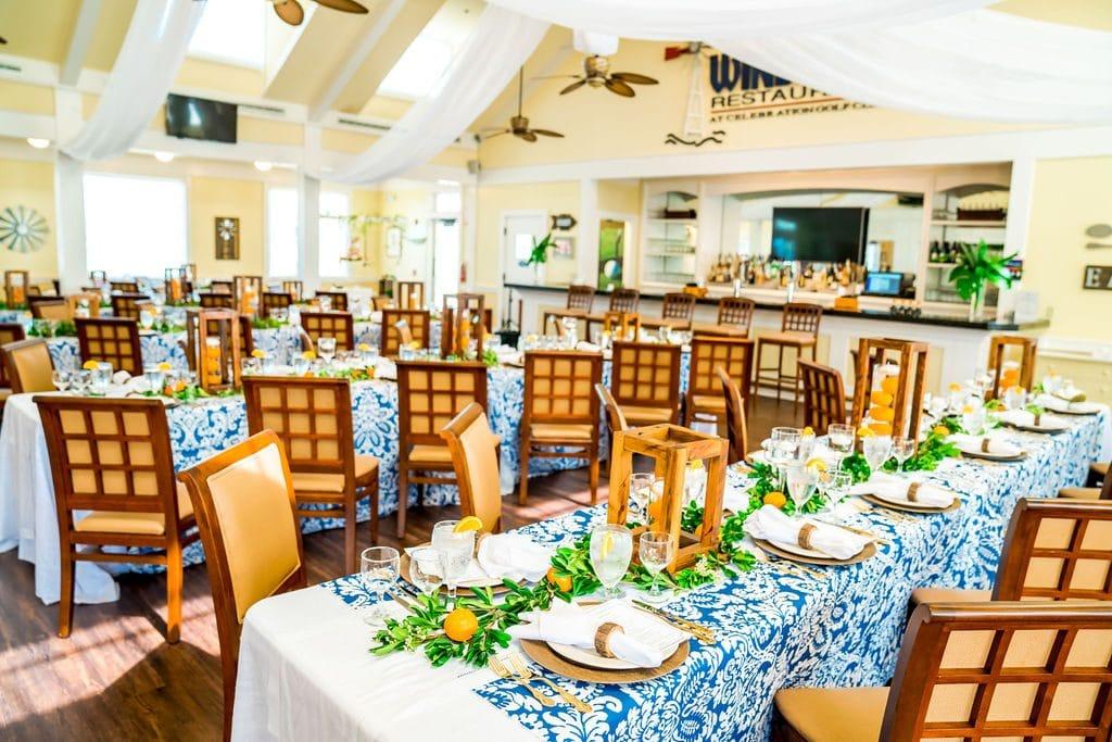 Celebration-Golf-Club-Luncheon table setting