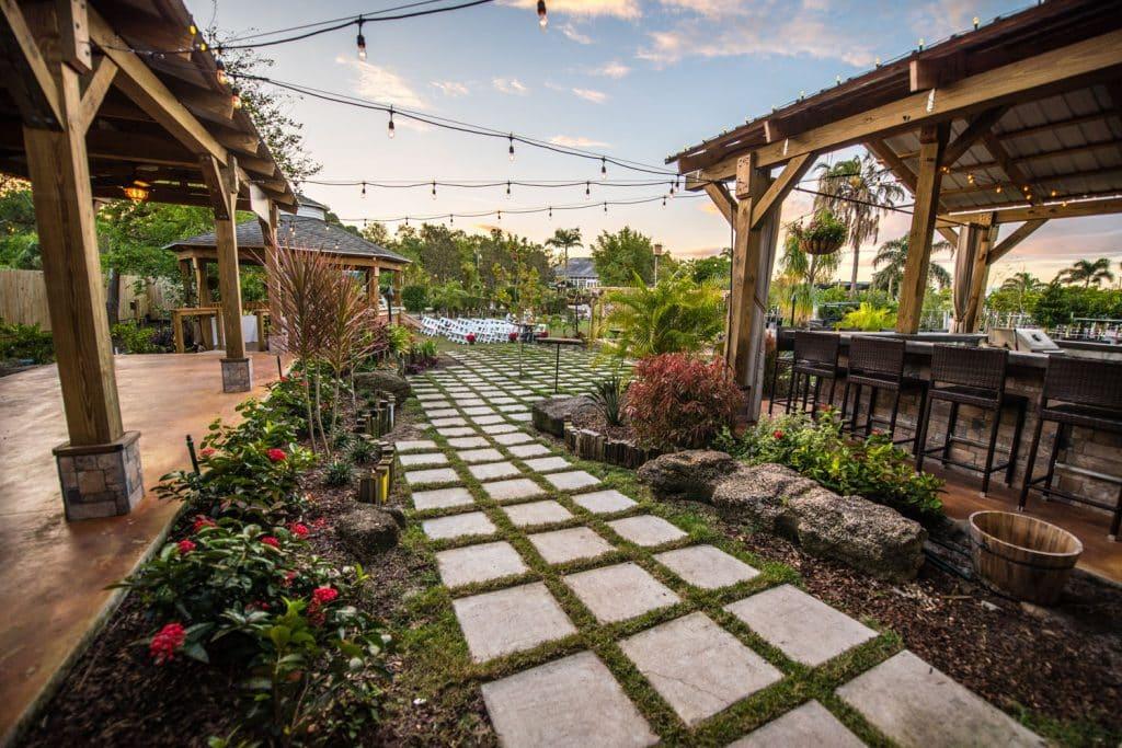 Rockledge Gardens - rustic glam garden venue