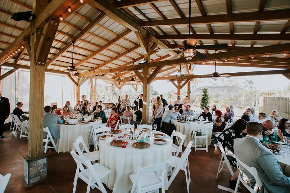 Rockledge Gardens - outdoor pavilion reception venue