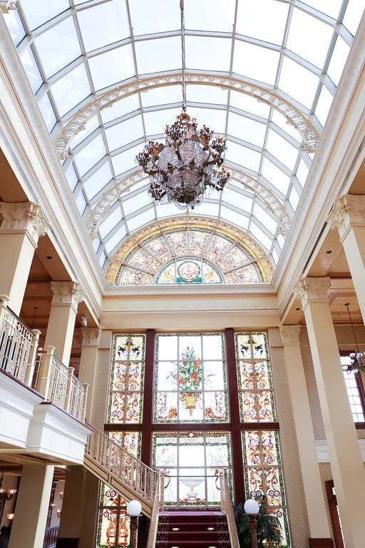 The-Ballroom-on-Church-Street-Beautiful view of the arched glass entry way