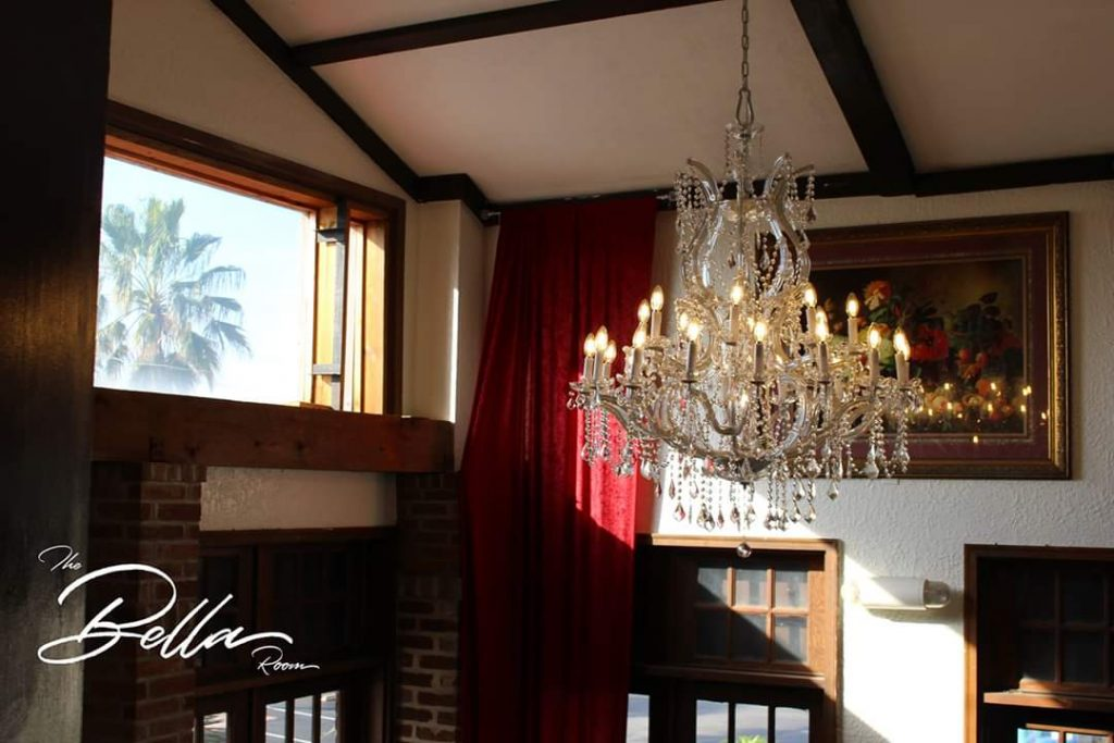 The Bella Room -crystal chandelier