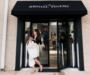 The Bridal Finery storefront