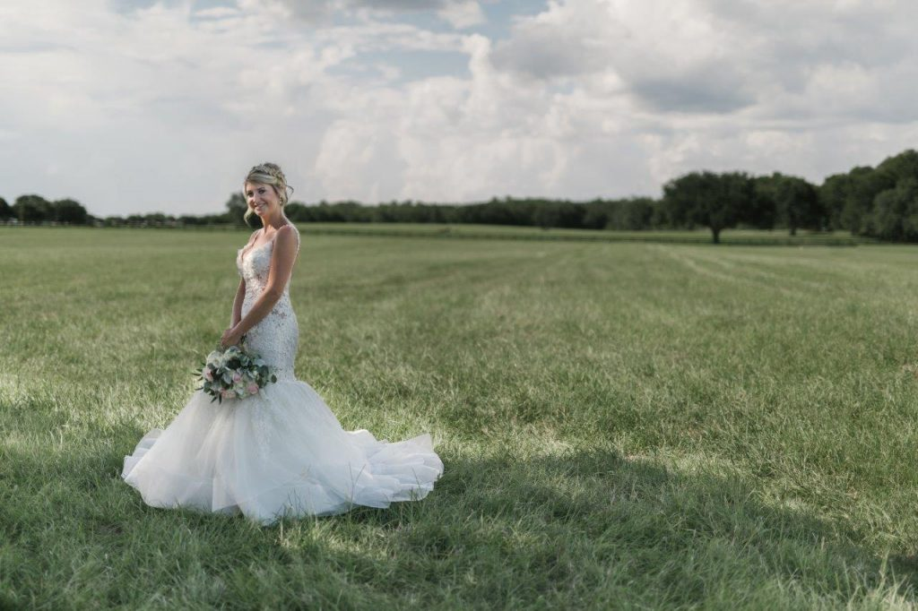Villages Polo Club - Sometimes, nature makes the best wedding venue!