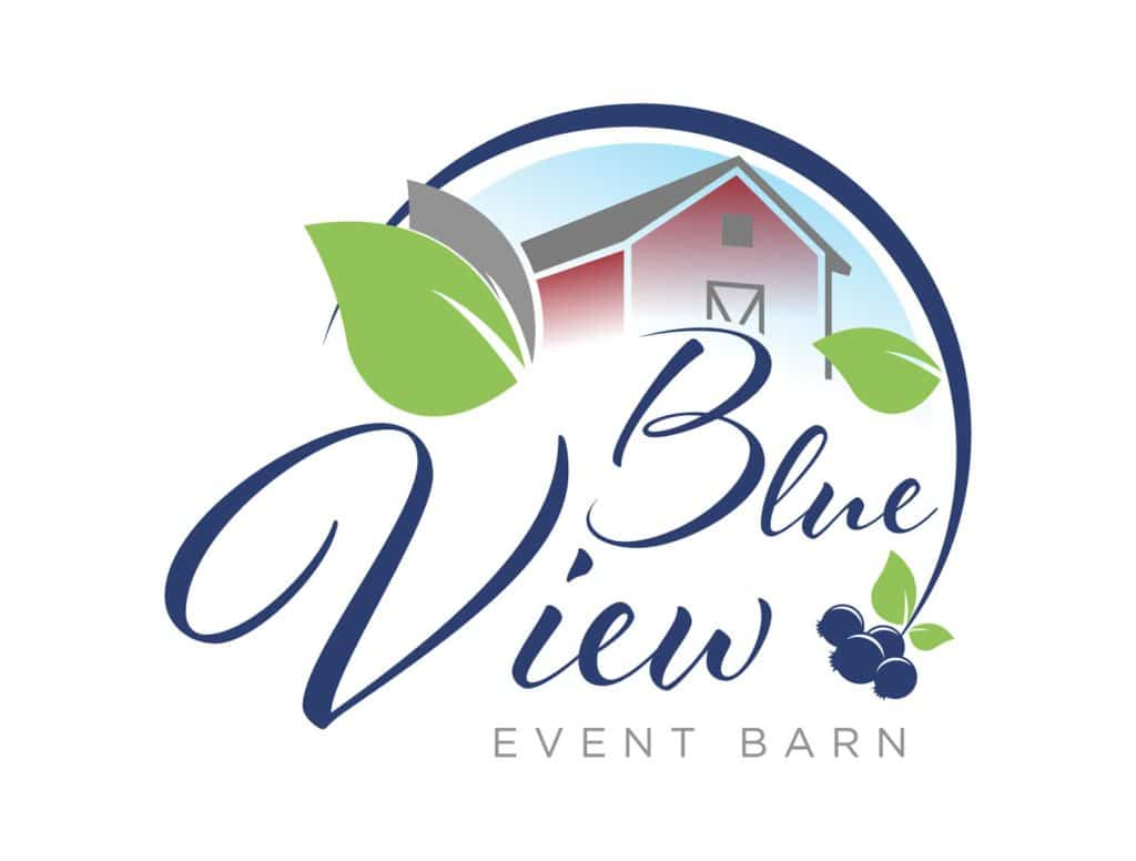 Blue View Event Barn logo