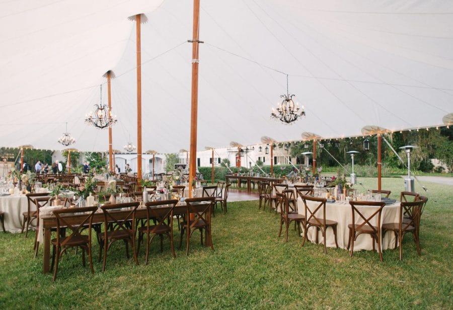 Jordan Weiland Photography Elegant Outdoor Reception At Home
