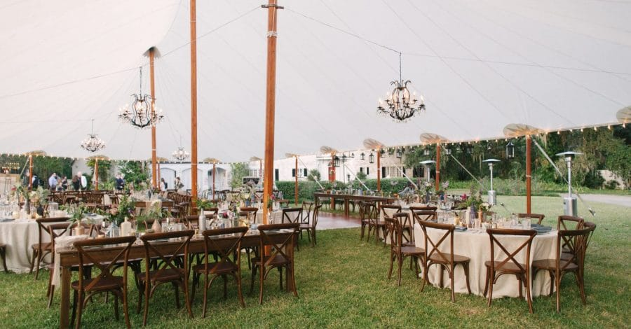 Jordan Weiland Photography - elegant outdoor reception at home