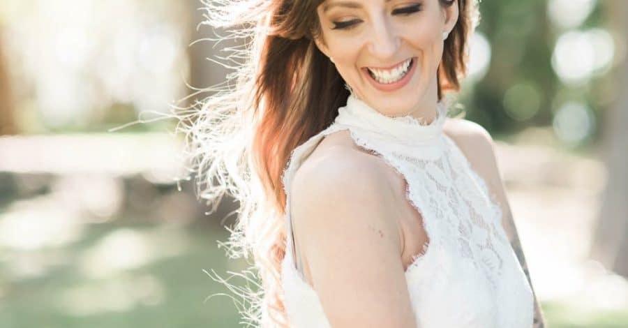 Marin Makeup - glowing bride