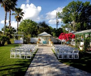 Celebration Gardens - outdoor ceremony and reception venue