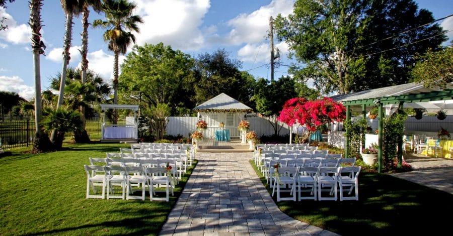 Celebration Gardens - outdoor ceremony and reception venue