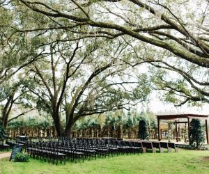 Club Lake Plantation - beautiful tree-covered ceremony location