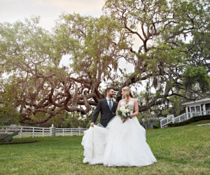 P.S. I Love You Productions - Outdoor Orlando Wedding