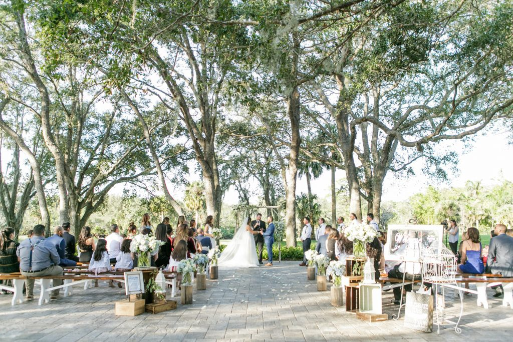 Up the Creek Farms - outdoor wedding venue with rustic touches