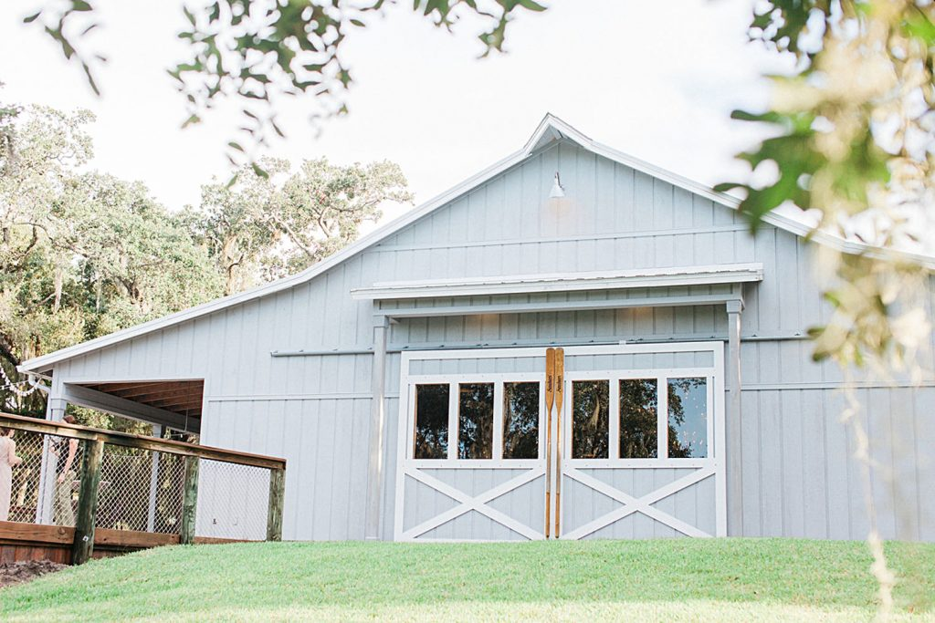 Up the Creek Farms - light blue barn