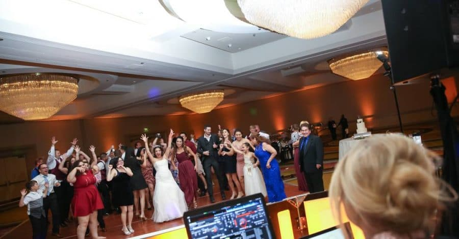 Our Dj Rocks - Orlando Wedding Party Cheering
