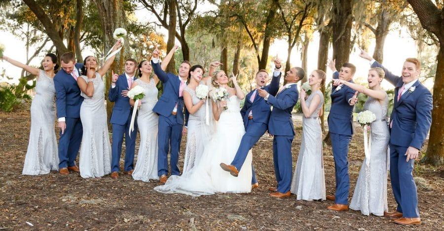 Live Happy Studios - Amazing Bridal Party Photo