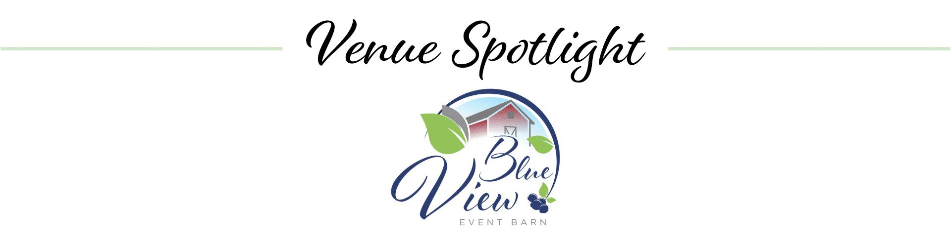 Blue View Event Barn logo