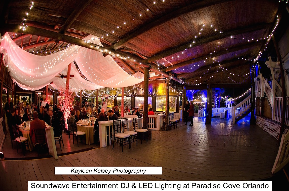 LED and market lighting at Paradise Cove Orlando