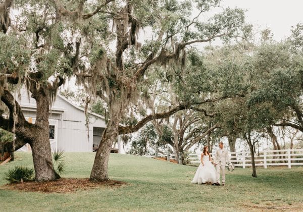 Wedding Venue Spotlight: Up The Creek Farms
