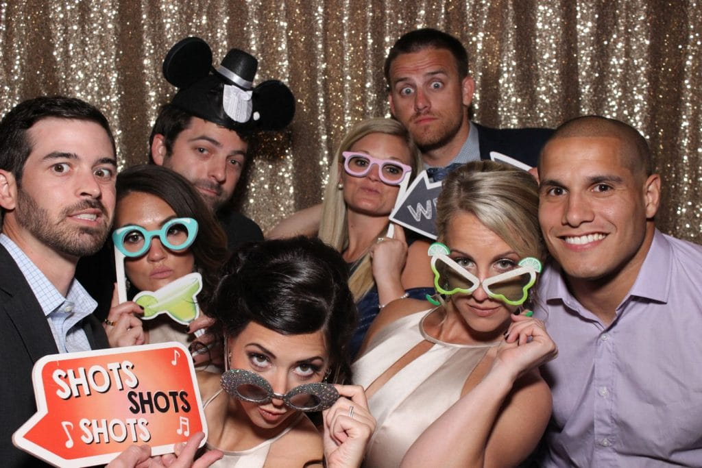 Party Shots Orlando - silly glasses prop photo booth