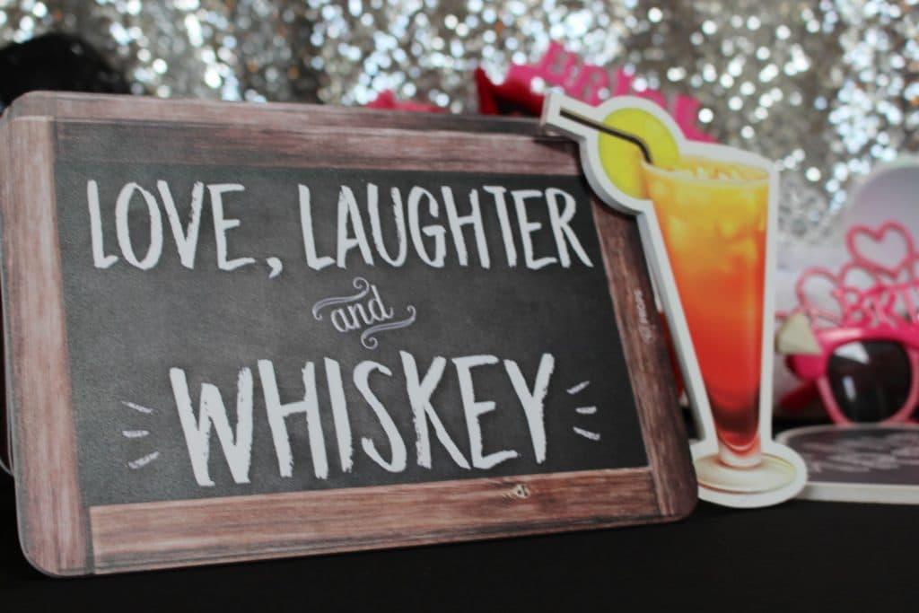 Party Shots Orlando - prop sign