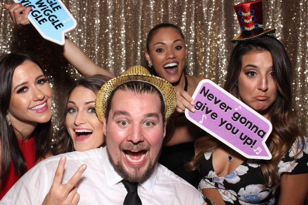 Party Shots Orlando - having fun in the photo booth