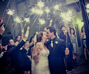 Perfect Sky Productions - sparkler sendoff