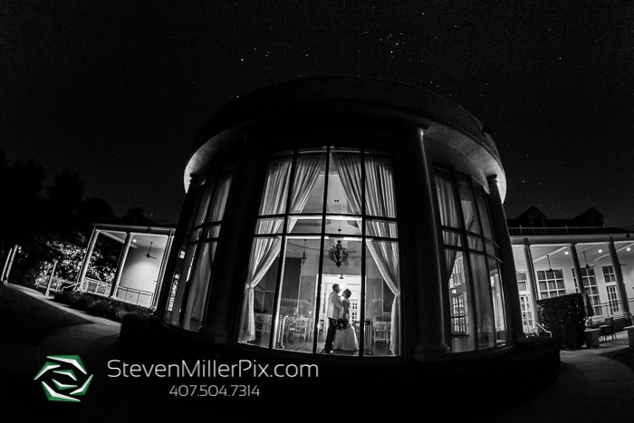Steven Miller Photography - bride and groom dancing in atrium at Lake Mary Events Center