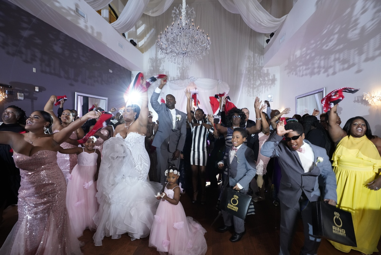 DJ Danny Garcia - guest filled dance floor with swag gifts