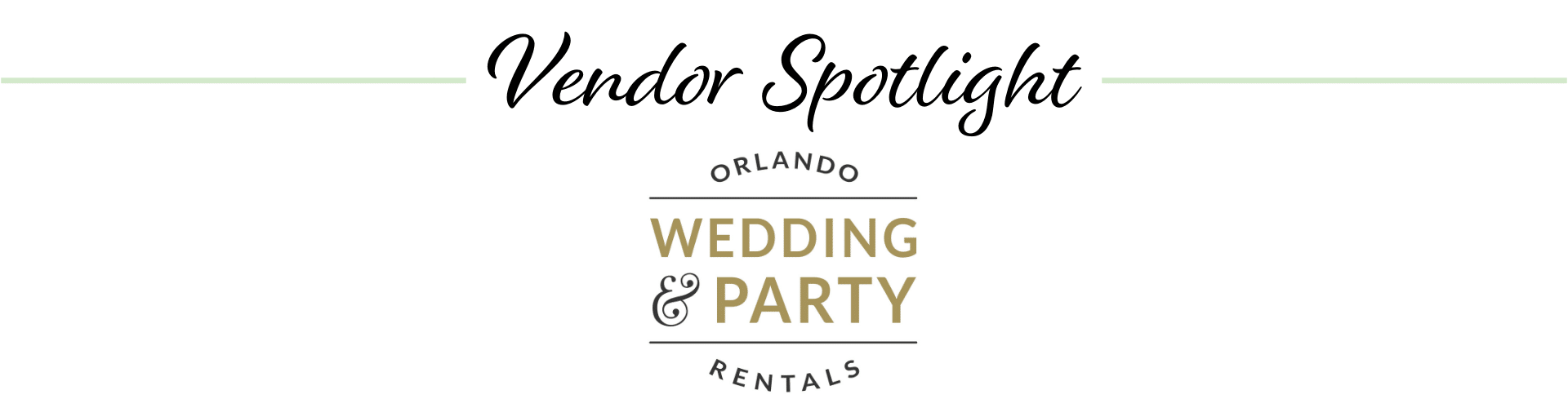 Orlando Wedding & Party Rentals logo