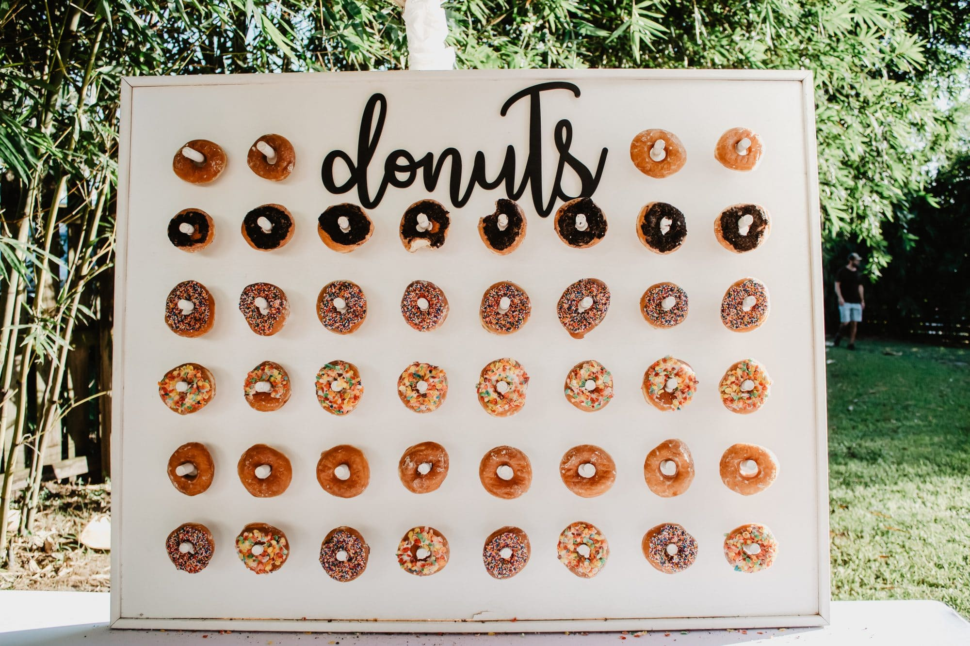 Orlando Wedding & Party Rentals - donut wall