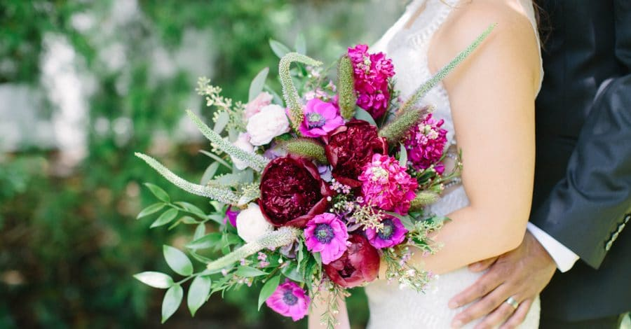 Atmospheres Floral and Decor - large purple bouquet