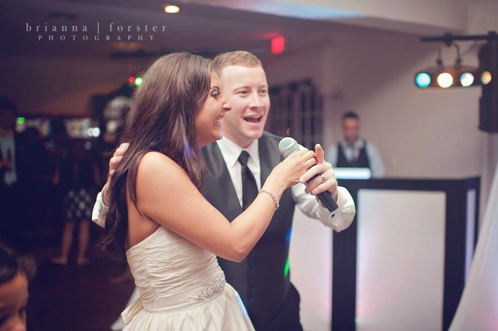 Press Play Entertainment - happy bride enjoying the reception
