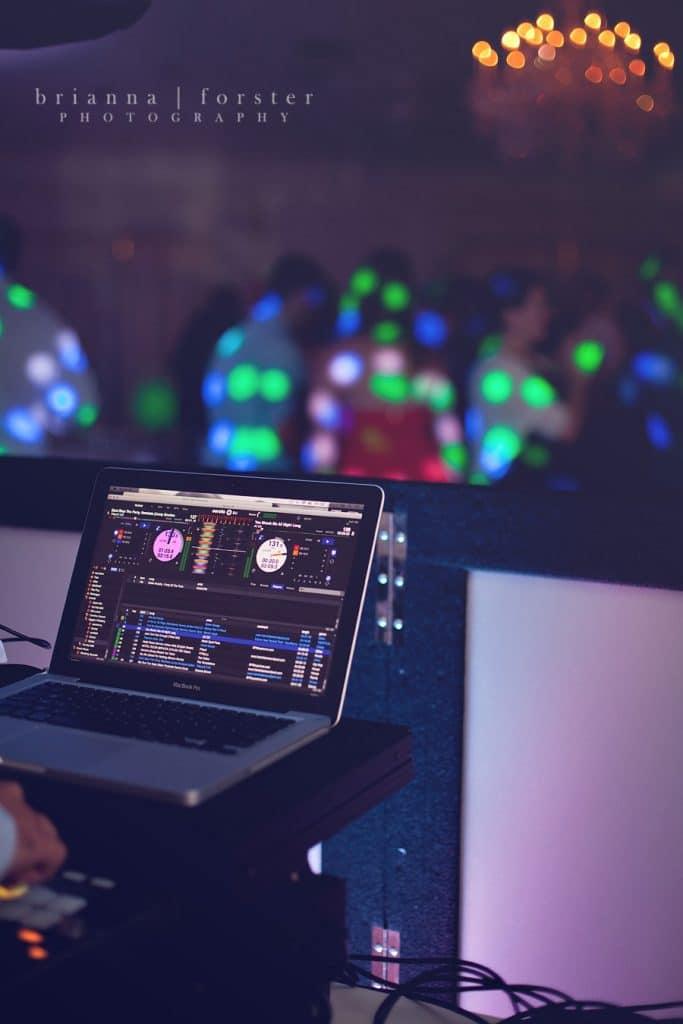 Press Play Entertainment - DJ set up