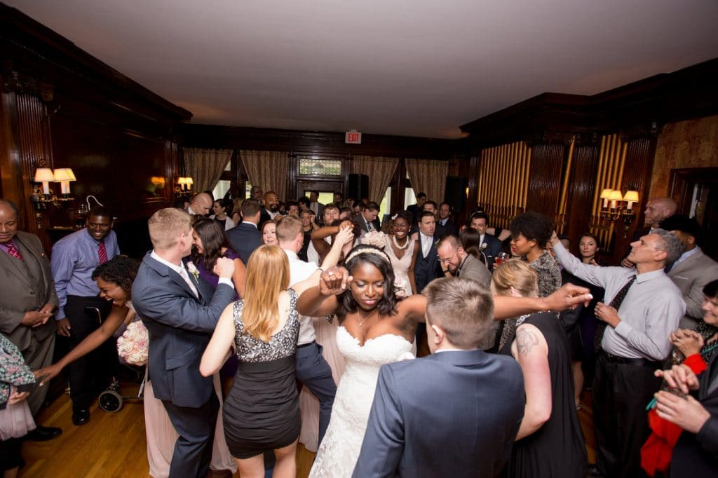 Press Play Entertainment - full dance floor at reception