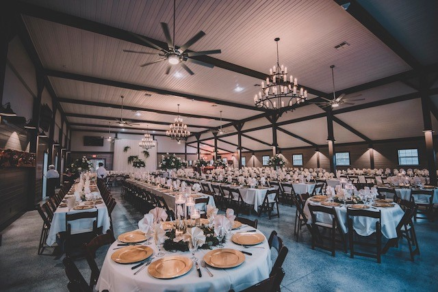 The Barn at Waller Ranch - cute barn transformed inside and out into cute reception venue