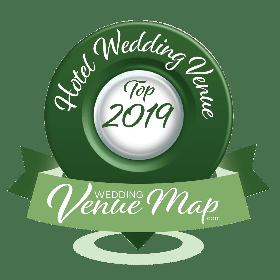 2019 Top Hotel/Resort Wedding Venues - Wedding Venue Map